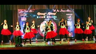 Group Dance by Kids on High Heels Te Nachche | Lak 28 Kudi Da | Let's Nacho