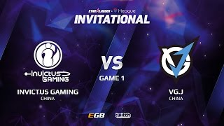 Invictus Gaming vs VG.J, Game 1, SL i-League Invitational S2 LAN-Final, Group A