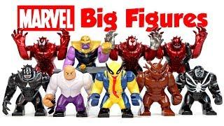 Carnage Venom Symbiote Toxin Avengers Thanos Infinity War Unofficial LEGO BigFigs Set 2