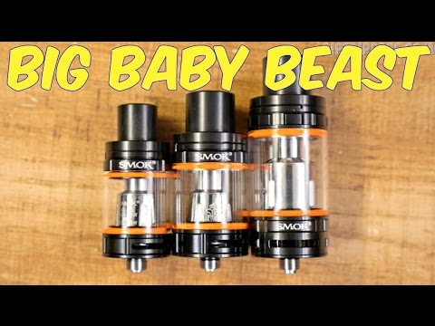 NEW SMOK Big Baby Beast First Look! 15 Tank Giveaway!