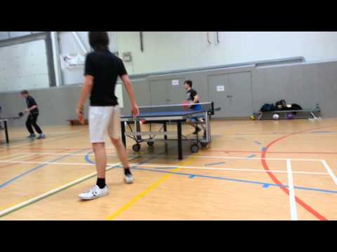 tim vs luke table tennis