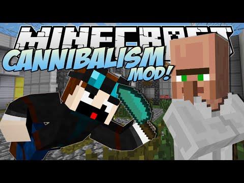 Minecraft | CANNIBALISM MOD! (Eating Dr Trayaurus!) | Mod Showcase