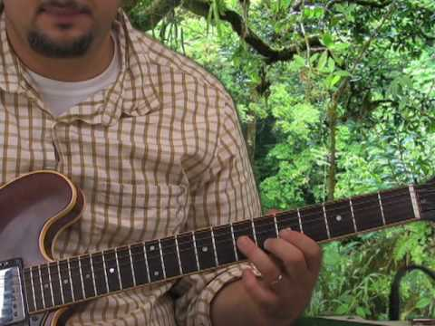 Guitar Scales – Learn How to Solo – Minor Pent Root on A