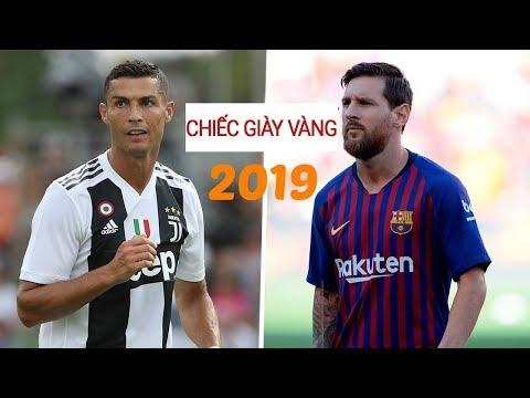 Ronaldo vs Messi:  RONALDO BẤT NGỜ  bứt tốc trong cuộc đua dành CHIẾC GIÀY VÀNG 2019 - BH SPORT - Thời lượng: 3 phút, 37 giây.