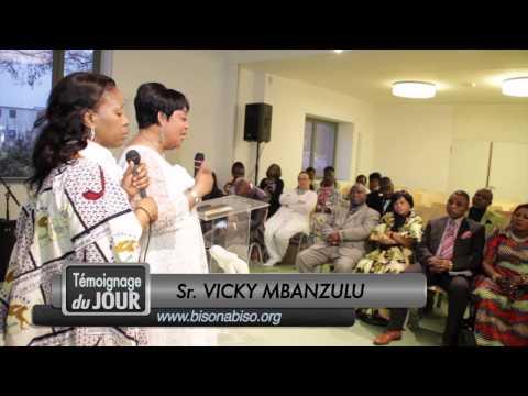Temoignage du pasteur Makolin et ma Vicky