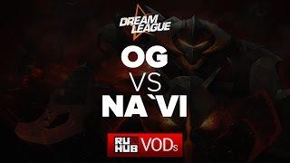 OG vs Na'Vi, game 1