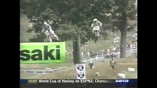 6. 2004 Steel City 250cc Moto 1 (Ricky Carmichael Goes For 250cc MX Title #5 [8 Straight Overall])