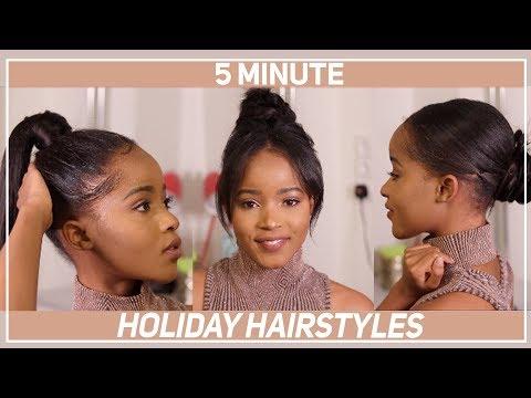3 EASY HAIRSTYLES FOR SHORT HAIR - Ali Julia hair