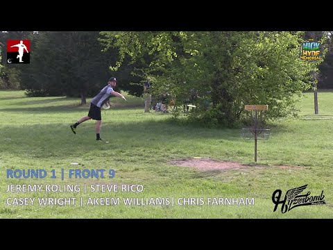 The Disc Golf Guy – Vlog #272 – Koling Rico Williams Wright Farnham Rnd 1 Front 9 – Nick Hyde