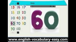 English Vocabulary Numbers (http://www.english-vocabulary-easy.com)