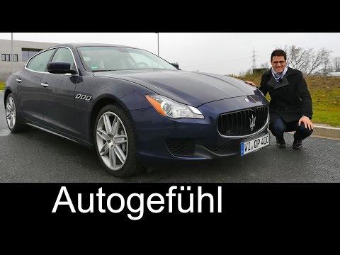 2015 Maserati Quattroporte test drive REVIEW V6 Diesel – Autogefühl