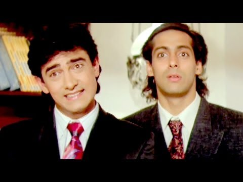 Video Paresh Rawal, Aamir Khan, Salman Khan - Andaz Apna Apna - Comedy Scene 18/23 download in MP3, 3GP, MP4, WEBM, AVI, FLV January 2017