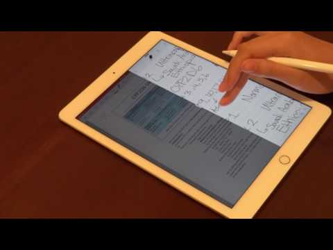 Must Have Apps for Apple Pencil and iPad Pro Users