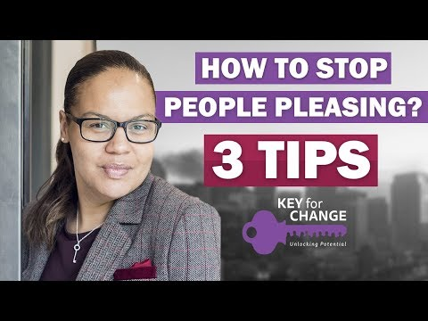 Three tips on people pleasing