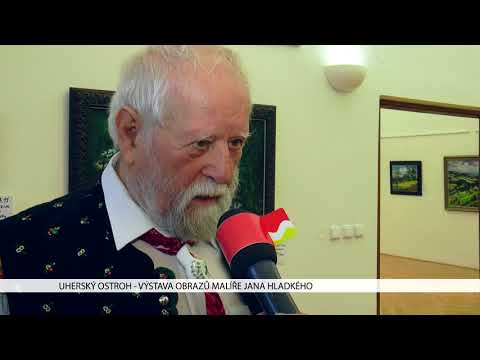 TVS: Uherský Ostroh - Výstava Jana Hladkého