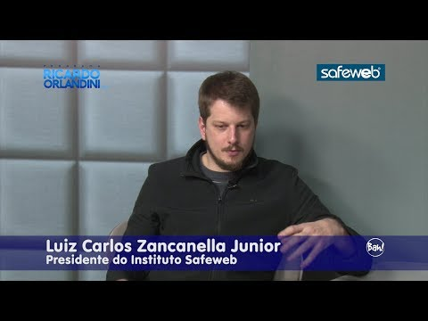 Ricardo Orlandini entrevista Luiz Carlos Zancanella Júnior, presidente do Instituto Safeweb.
