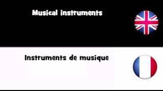 APPRENDRE L'ANGLAIS = Instruments De Musique