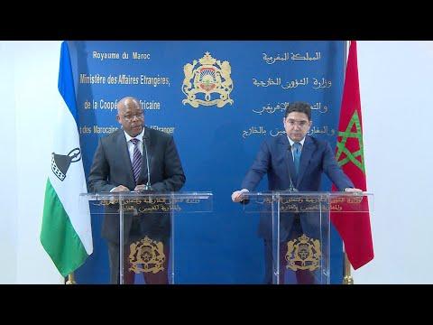 مملكة ليسوتو تقرر تعليق جميع القرارات والتصريحات السابقة المتعلقة بالصحراء