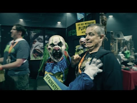 Insane Puppet Scare with VFX Creates at Midsummer Scream 2016