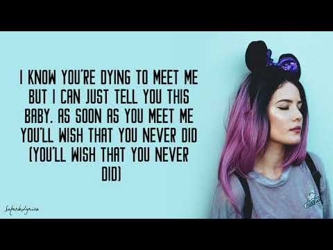 Halsey - Alone Ft. Big Sean, Stefflon Don (Lyrics)