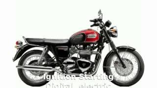 8. Triumph Bonneville T100 - Details and Specification