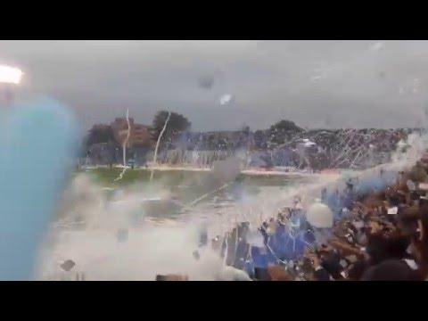 INCREÍBLE RECIBIMIENTO DE ATLÉTICO TUCUMAN VS BELGRANO 2016 - La Inimitable - Atlético Tucumán