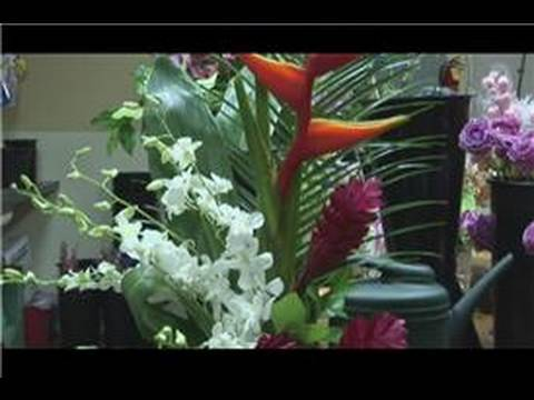 Floral Arrangements : How to Make Tropical Flowers