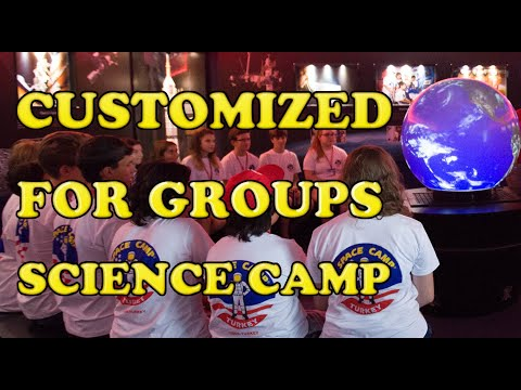 Space Camp Turkey: Customized Outer Space Adventure Program