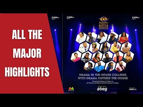 BBNaija Reunion 2021 - All The Major Highlights