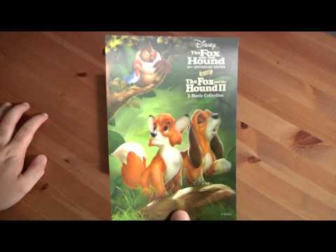 File91e Unboxes The Fox And The Hound 2-Movie Blu-Ray/DVD Collection And Tomorrowland Tin