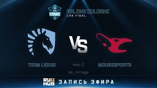 Liquid vs mouz, game 2