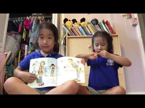 Olivia and Chloe Toy & Book Videos: Book and Legos (видео)