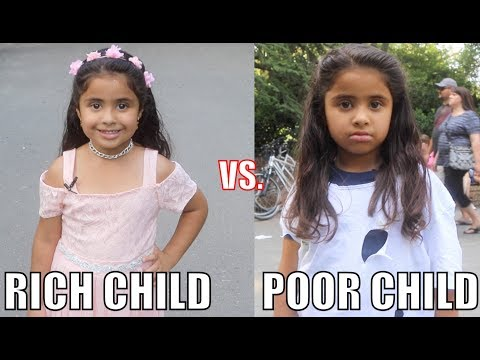 Rich Child vs. Poor Child Experiment!!