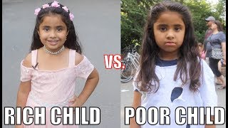 Video Rich Child vs. Poor Child Experiment!! MP3, 3GP, MP4, WEBM, AVI, FLV Oktober 2017