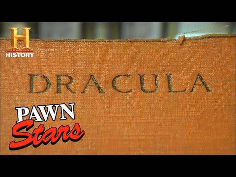 Pawn Stars: SHOCKING PRICE for Signed Dracula Novel (Season 4)   History