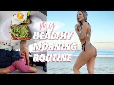 MY HEALTHY MORNING ROUTINE | Habits for Mental Health, Motivation & Fitness!