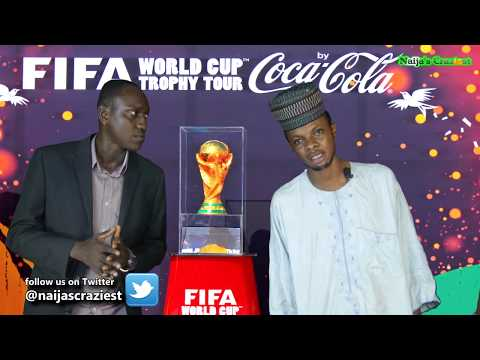 Buhari Refuses To Return World Cup Trophy To FIFA After Nigeria Tour Presentation (Parody)
