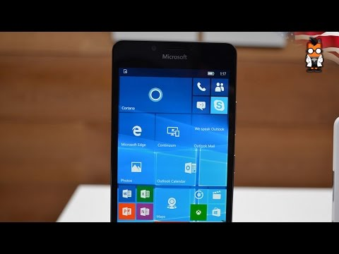 Microsoft Lumia 950 Hands on