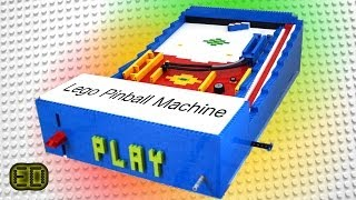 Lego Pinball Machine - V5 [AWESOME]