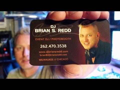 Effective DJ Business Card Design Ideas