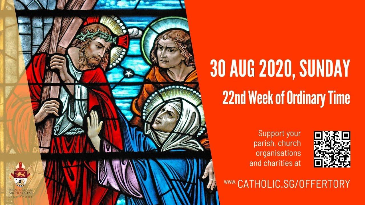 Catholic Sunday Mass 30th August 2020 Today Live Online - Livestream