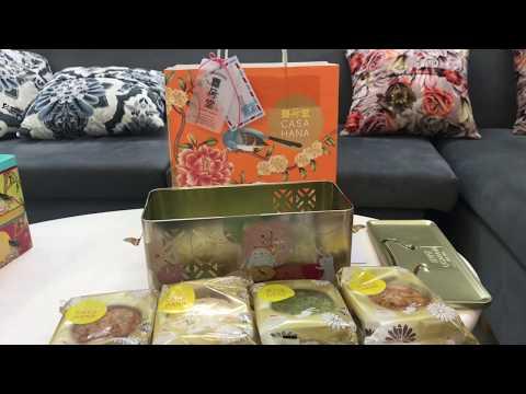 Hộp bánh trung thu CASAHANA Mid Autumn Joy Gold 04 bánh*180g