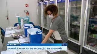 Postos de saúde de Marília se preparam para Dia D de vacinação