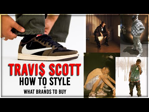How to Style Streetwear like Travis Scott! (what brands to buy)