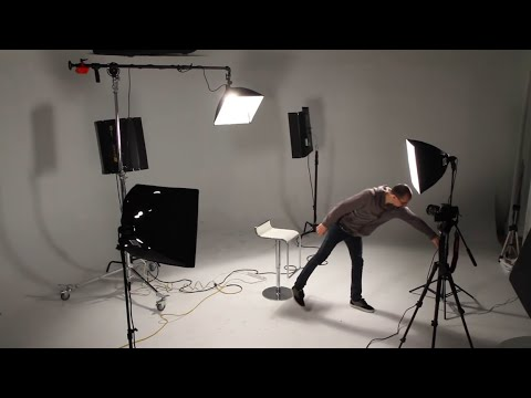 lighting - In this tutorial I walk you through what Three Point Lighting is, what its uses are, and how to achieve it for Cinematography or Still Photography Key Light,...