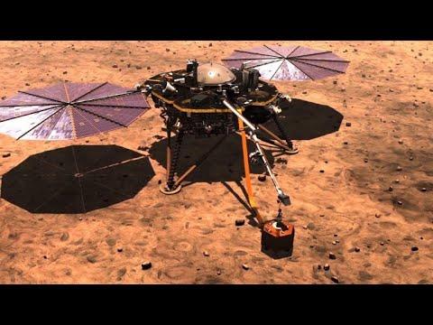 Mars-Sonde: Maulwurf HP3 im Anflug auf roten Planeten