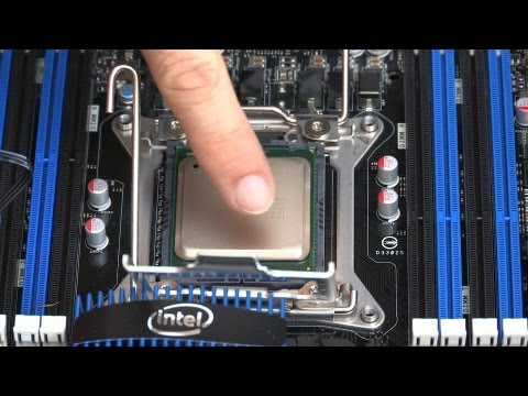 3930k - In this episode we look at installing the CPU. *Intel Core i7-3930K Hexa-Core Processor 3.2 Ghz 12 MB Cache LGA 2011 - BX80619I73930K http://www.amazon.com/g...