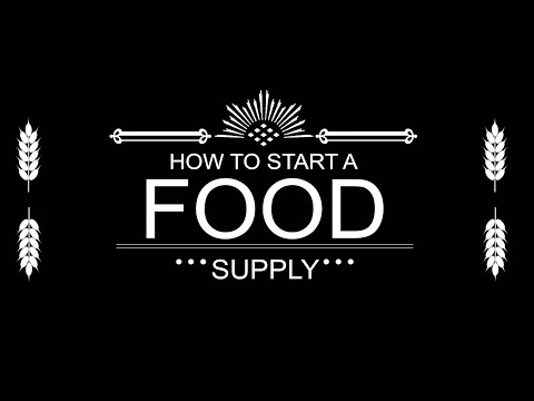 Food Storage: How to Start Your Emergency Food Supply