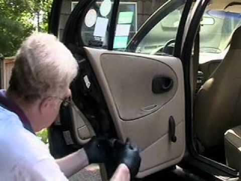 1997 Saturn Rear Door Lock Latch Repair v2 2 0001