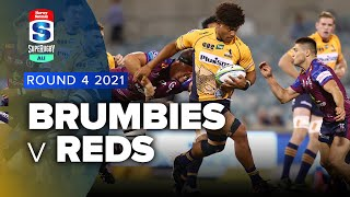 Brumbies v Queensland Reds Rd.4 2021 Super Rugby AU video highlights
